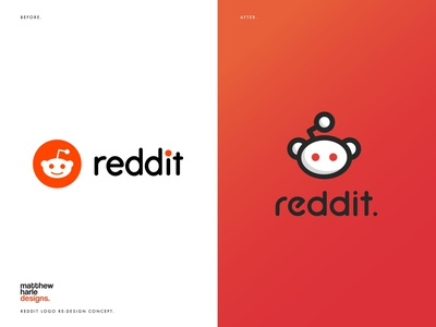 Reddit Logo Re-design.