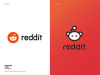 Reddit Logo Re-design.