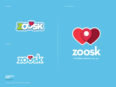ZOOSK Logo Re-design.