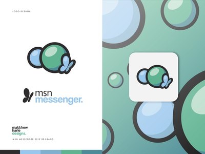 MSN Messenger - Rebrand Project - Logo Design.