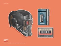 Marvel's Guardians Of The Galaxy 'Star-Lord' Starter Kit