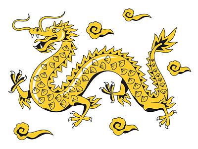 dragon animated gif chinese dragon chinese culture dragon asian chinese new year animation animated art artwork ux illustration web ui vector