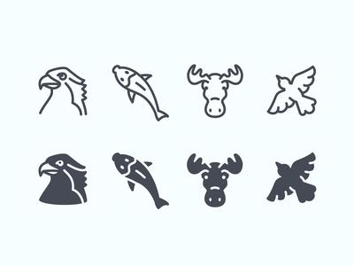 Wildlife ios icons