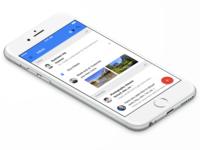 Inbox By Gmail iOS UI