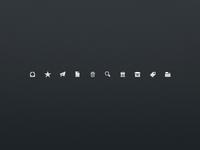 Sparrow 1.3 13x13px icons