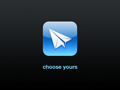 Sparrow iPhone icon sparrow iphone icon help us