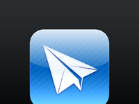 Sparrow iphone icon itunesartwork