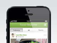 Foodreporter base feed