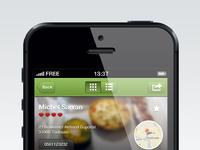 Foodreporter restaurant profile