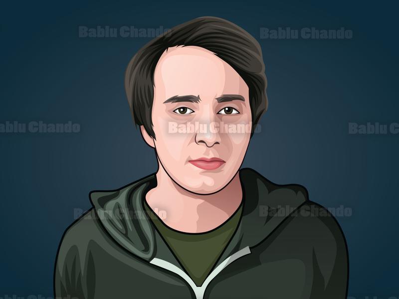 Cartoon_portrait / Vector_portrait for a team vexel avatar digital painting caricature character illustration portrait vector cartoon vector portrait cartoon portrait