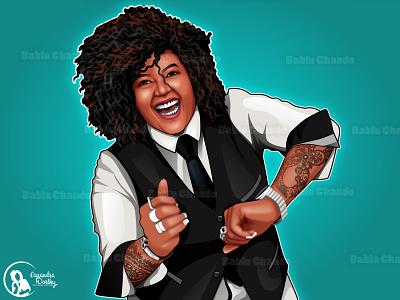 Soft Cartoon portrait branding motion graphics ui design adobe illustrator 3d logo animation mascot logo illustration caricature cartoon character vector digital painting vector portrait graphic design