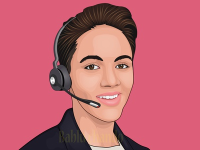 Another Cartoon Portrait design vector portrait vector illustration logo digital painting digitalart character design caricature cartoon