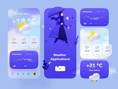 Weather App cloud statistics icon weather icon weather app weather 2020 trend minimal flat ux design ui mobile design app ios app design ios app ios application app design app