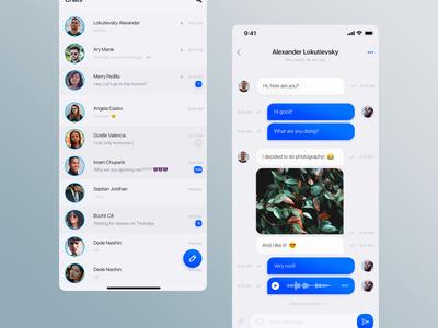 Mobile Application - Social Messenger