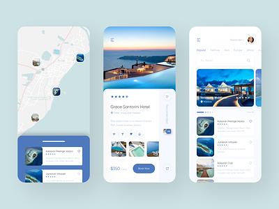 Travel and Booking App mobile design mobile app 2020 trend trends trending ios app mobile ux flat ios application minimal ui design app
