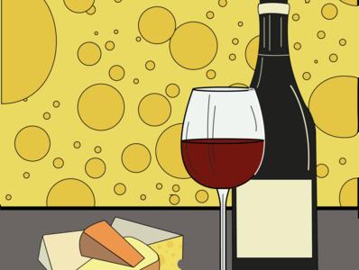 Cheese & Wine   Fanzine Design