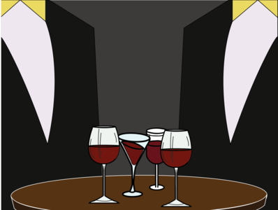 Suit Wine | Fanzine Design