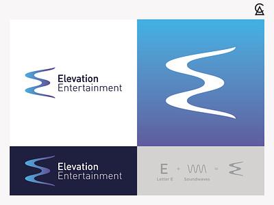 Elevation Entertainment Logo Concept 1 illustrator design graphic design logos icon design icon logo design logo branding illustration logodesign
