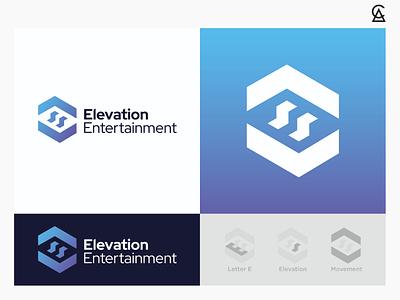 Elevation Entertainment Concept 2 illustrator icon identity branding logo design logo