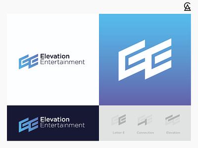 Elevation Entertainment - concept 3 illustrator icon graphic design identity design branding logo design logo