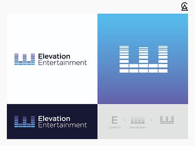 Elevation Entertainment Logo Concept 4 music icon identity branding logo design logo