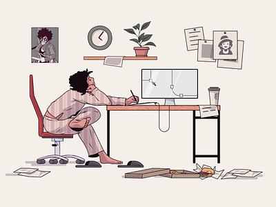 Hi freelancers! web illustration freelancer design illustration vector