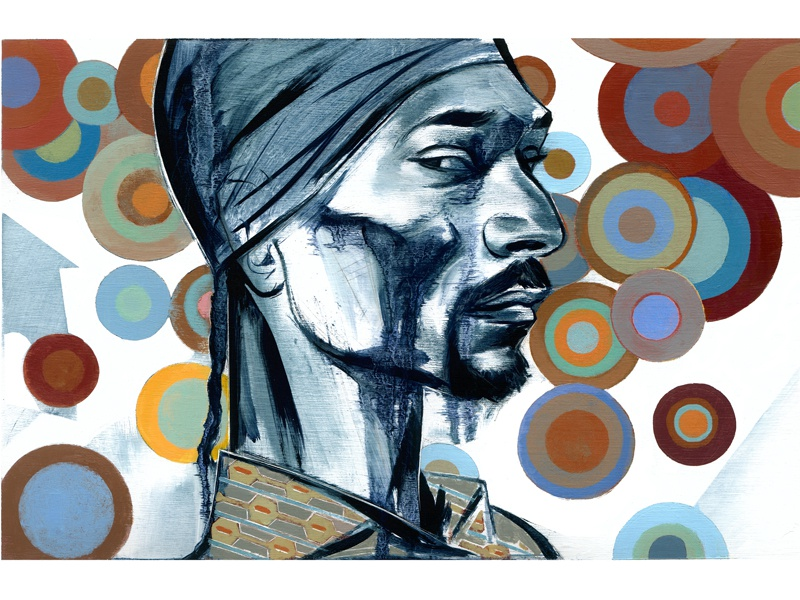 Snoop Dogg joe morse illustration art music hip hop portrait snoop dogg