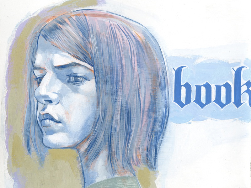 face book illustration art hand lettering girl facebook joe morse