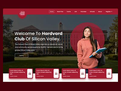 College Web UI vector web ux webdesign ui  ux branding uiux uidesign designer design