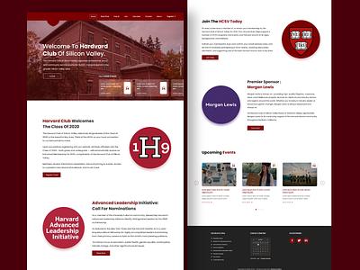 Hardvard University Redesign Concept web ux typography webdesign ui  ux branding uiux uidesign designer design