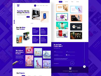 Digital agency Website webdesigner websites creative branding creative agency company website digital digital agency website concept website design ui  ux webdesign designer typography design