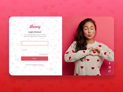 Love UI lovely app web typography branding webdesign uiux ui  ux uidesign designer design