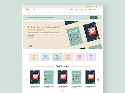 Bookies Web UI branding colors minimal typography ux uiux webdesign ui  ux uidesign designer design