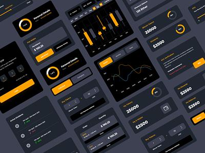 Crypto Currency App Concept web illustration webdesign typography branding uiux ui  ux uidesign designer design