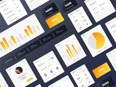 Crypto Trading App Concept app minimal ui typography animation illustration ux branding webdesign uiux ui  ux uidesign designer design