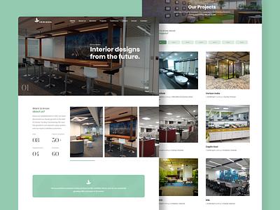 Interior Design Concept ui illustration branding webdesign ui  ux uiux uidesign designer design
