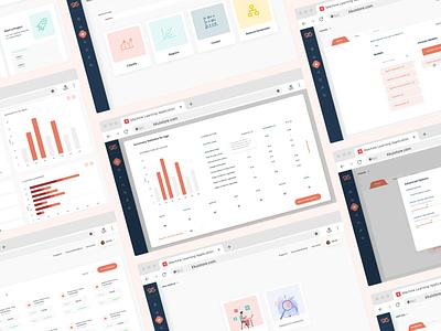 Machine Learning Concept ui logo illustration branding webdesign uiux ui  ux uidesign designer design