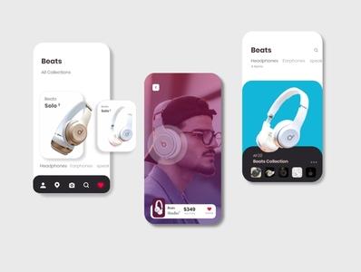 Beats app concept