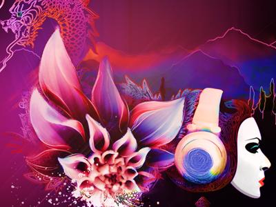 Coming soon new purple girl dragon portfolio vancouver mountains illustration hand-drawn