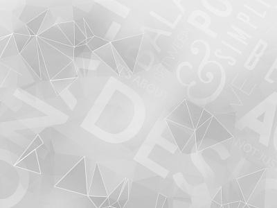 Typography background black and white low poly poly typography gray portfolio