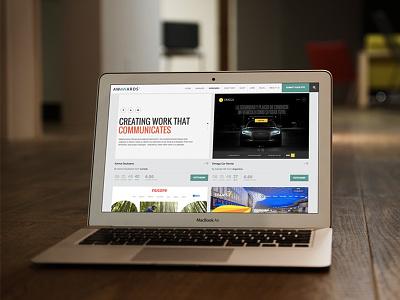 Awwwards Nominee freebie web design website portfolio awwwards awards