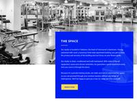 Cirque-de-soleil-inspired website design
