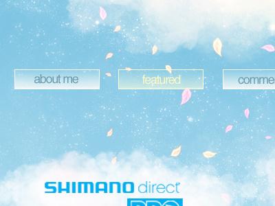 Portfolio'11 menu buttons portfolio