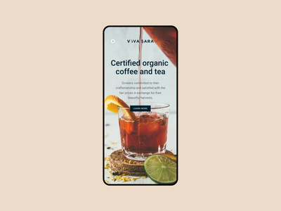 Online store - Coffee & Tea