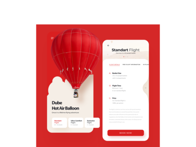 Hot Air Ballon UI