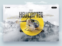 Helicopter Web Design - 1