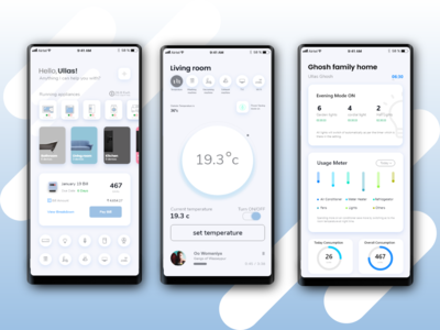 Smart Home App shot