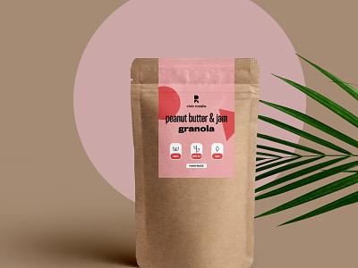 Club Rozalie Packaging branding brand identity pastel minimal design package design packagedesign