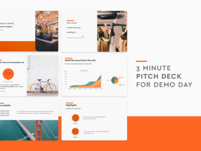 Pitch Deck designs, themes, templates and downloadable graphic