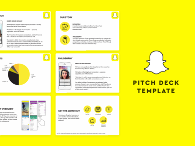 Snapchat Pitch Deck
